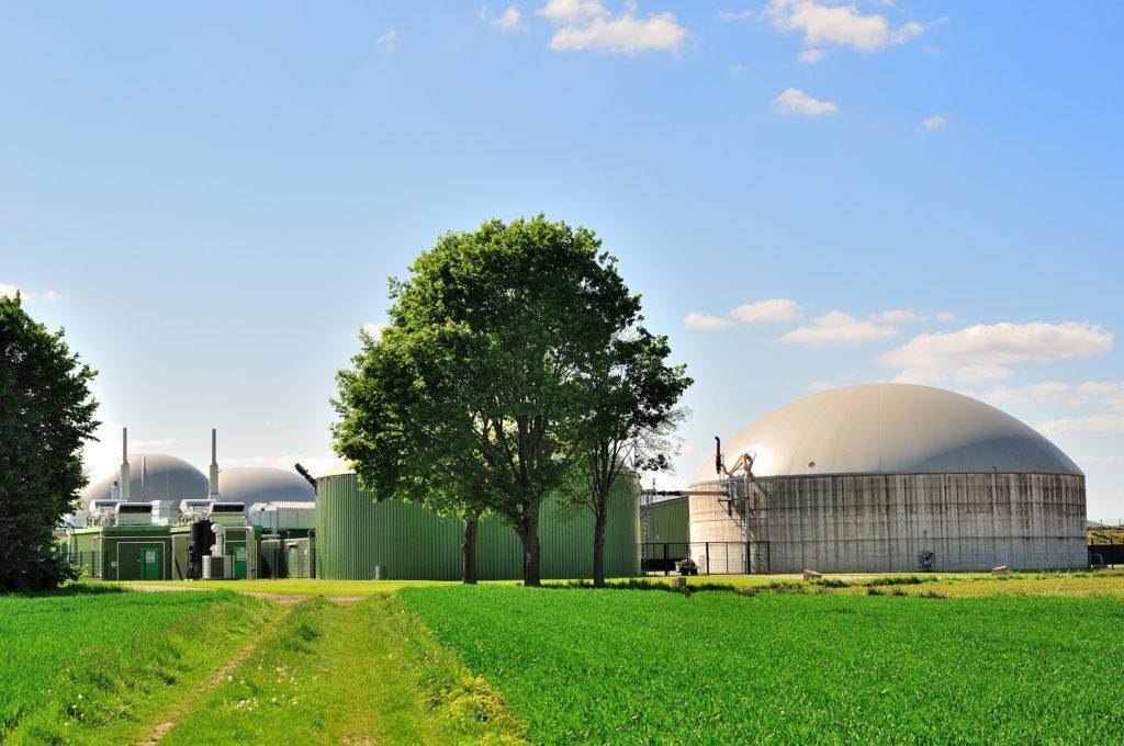 Usine biogaz -